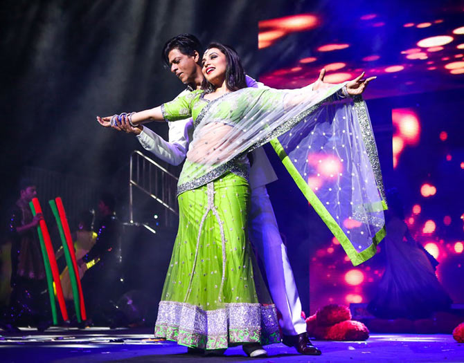 Shah Rukh and Rani Mukerji