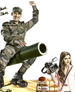 Sharman Joshi and Soha Ali Khan in War Chhod Na Yaar