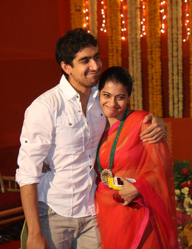 Ayan Mukerji and Kajol