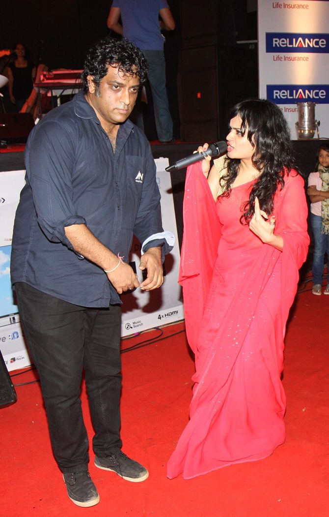 Anurag Basu and Aditi Bose