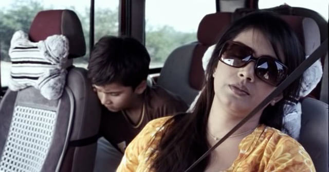 Keval Katrodia and Sonali Kulkarni in The Good Road