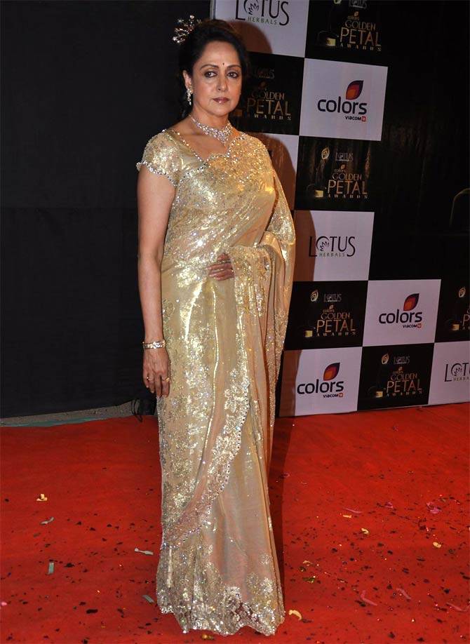 Hema Malini at the Colors Screen awards