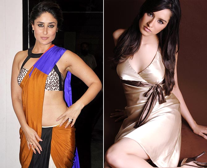 Kareena Kapoor and Shraddha Kapoor