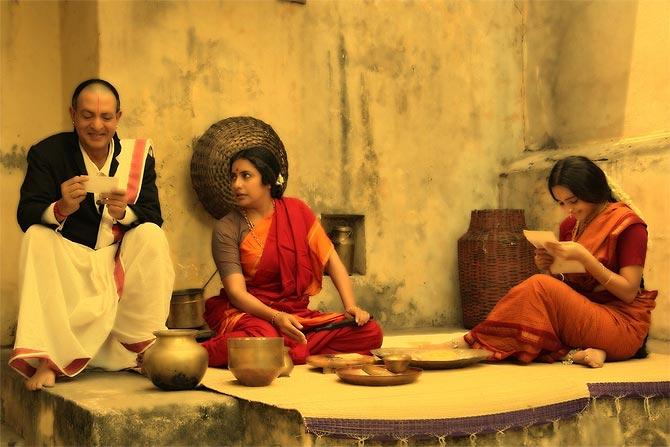 A scene from Ramanujan