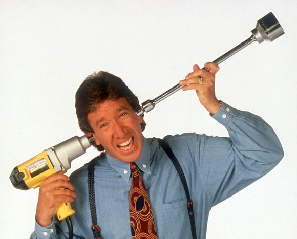 Tim Allen in Home Improvement
