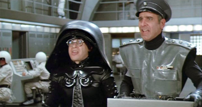A scene from Spaceballs