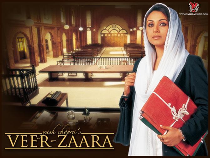 Rani Mukerji in Veer-Zaara