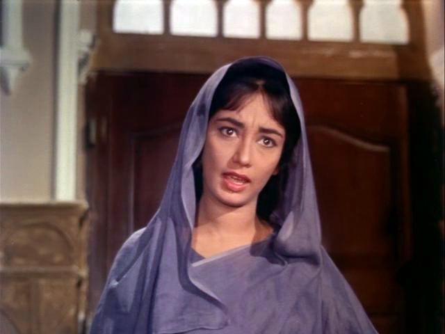 Sadhna in Mera Saaya