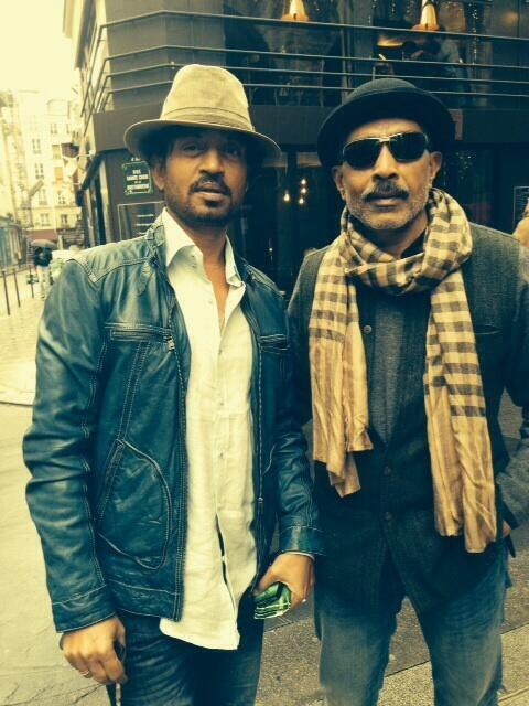 Irrfan and Prakash Jha
