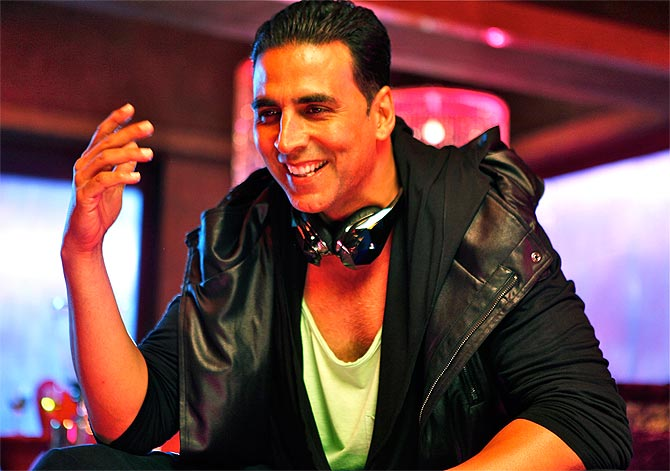 Akshay Kumar says he has not learnt to give up.