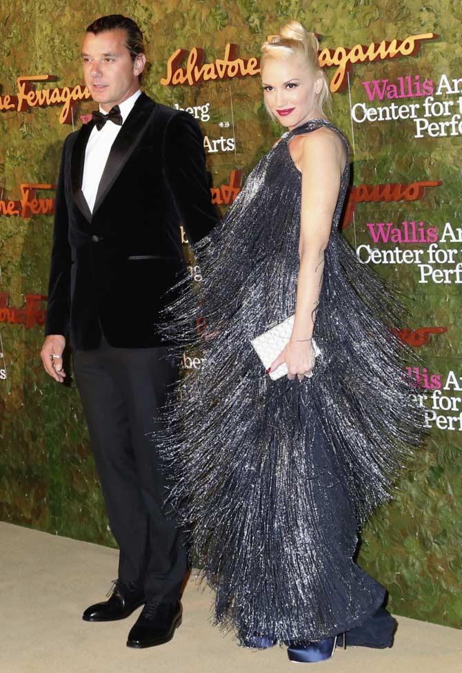 Gwen Stefani with musician husband Gavin Rossdale