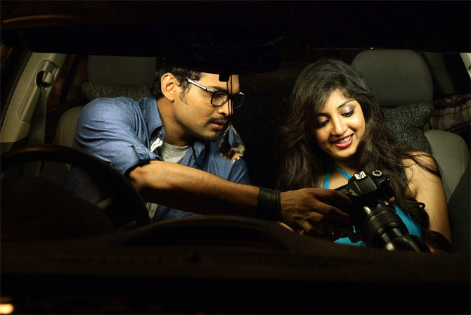 Ajmal Amir and Archana Kavi in Bangles
