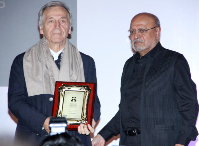 Costa Gavras and Shyam Benegal
