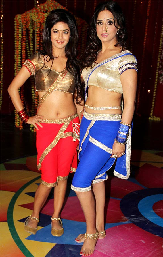 Meera Chopra and Mahie Gill in Gang Of Ghosts