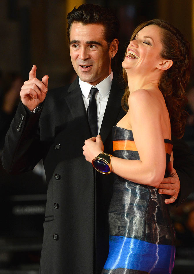 Colin Farrell and Ruth Wilson