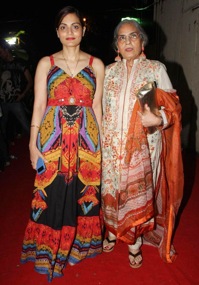 Alvira Khan Agnihotri and Salma Khan