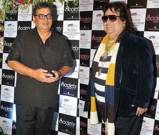 Subhash Ghai and Bappi Lahiri