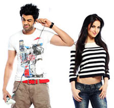 Manish Paul and Elli Avram in Mickey Virus