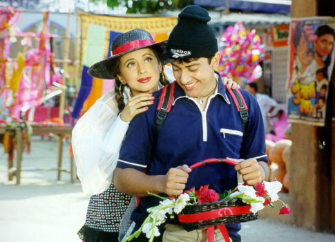 Urmila Matondkar and Aftab Shivdasani in Mast