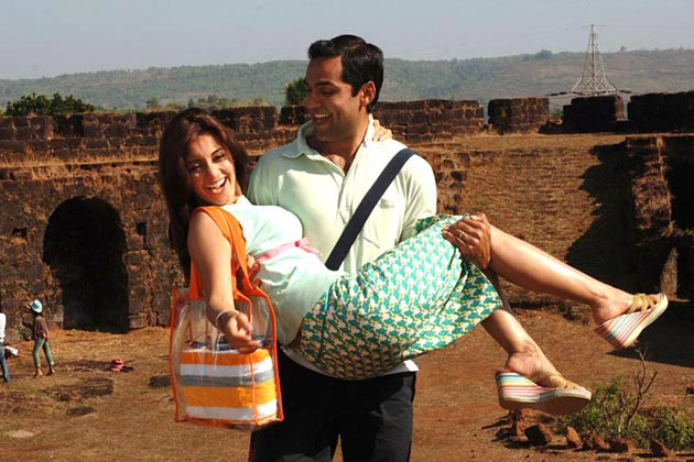 Minissha Lamba with Abhay Deol in Honeymoon Travels Pvt Ltd
