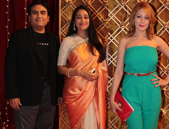 Dilip Joshi, Disha Vakani and Mummun Dutta
