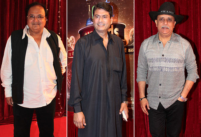 Rakesh Bedi, Kanwaljeet Singh and Rajesh Puri