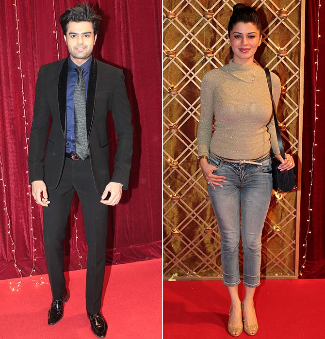 Manish Paul and Kainaat Arora