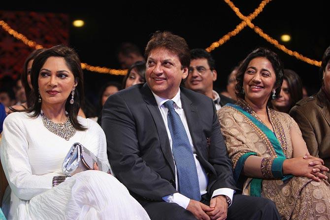 Simi Garewal, Shashi and Anu Ranjan