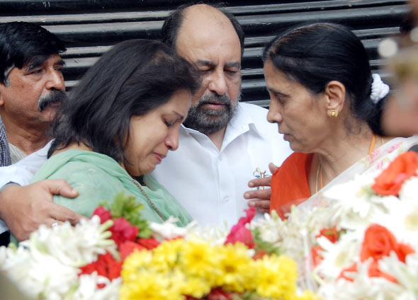 Manna Dey's family