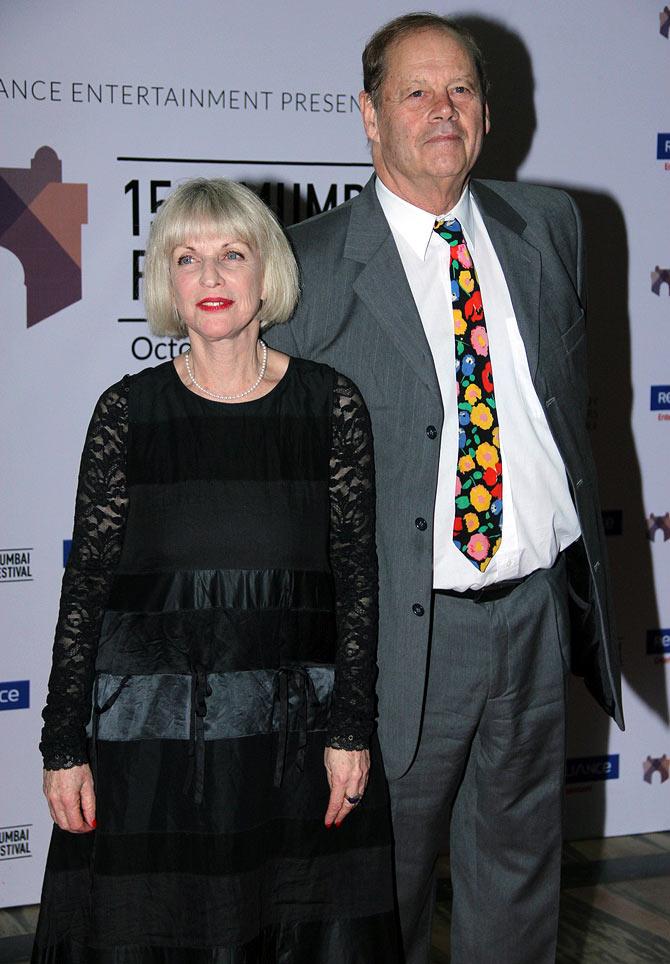 Nathalie Baye and Bruce Beresford
