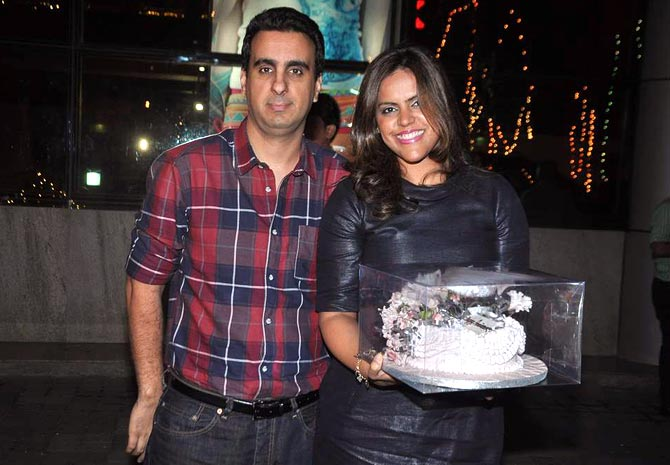Meghna Ghai and Rahul Puri