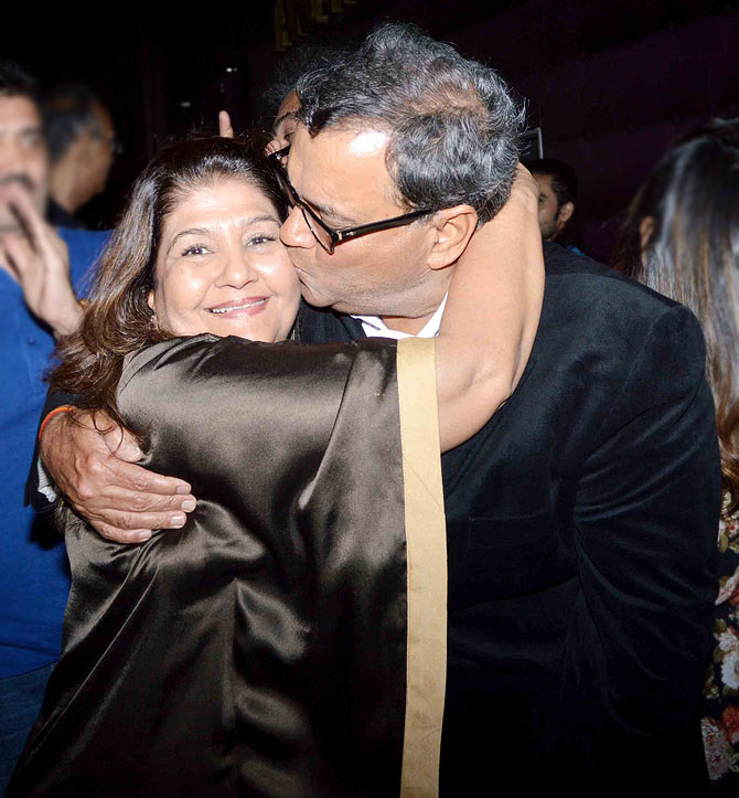 Subhash and Mukta Ghai