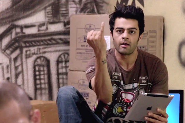 Manish Paul in Mickey Virus