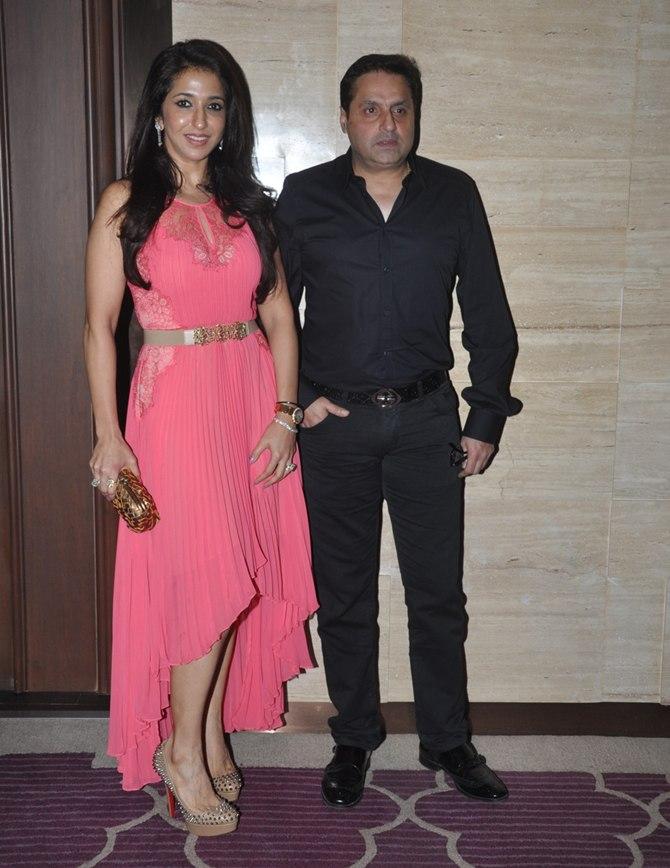Krishika Lulla with husband Sunil