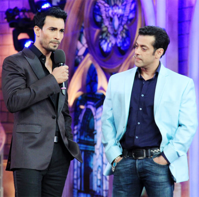 Asif Azim and Salman Khan