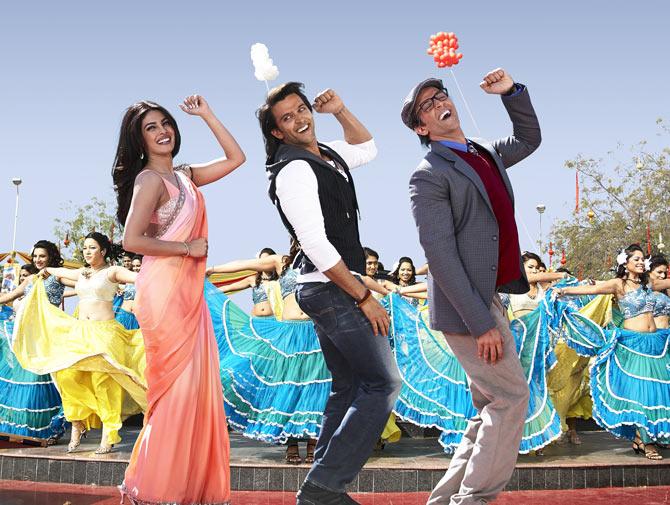 Priyanka Chopra, Hrithik Roshan in Krrish 3