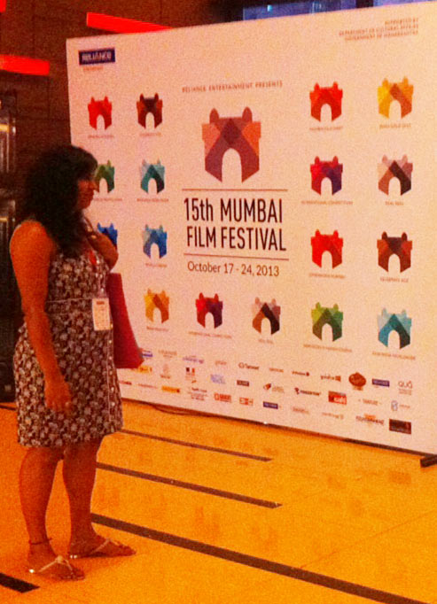 A film festival patron takes a closer look