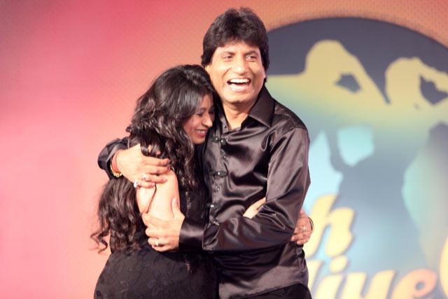 Raju Srivastav and Shika