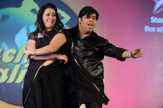 Kiku Sharda and Priyanka