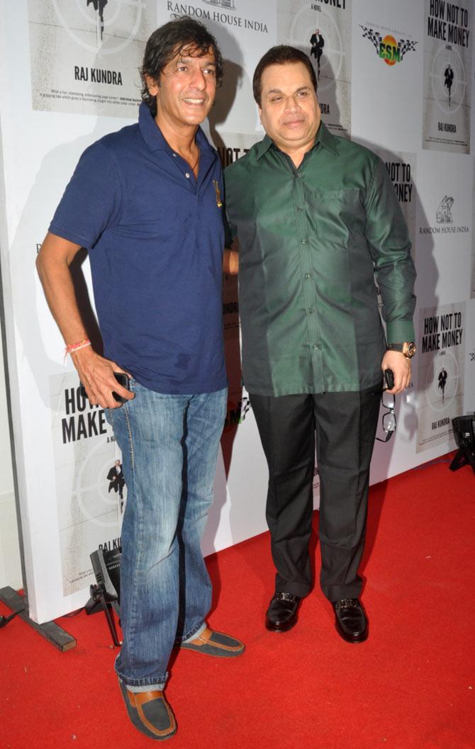 Chunkey Pandey and Kumar Taurani