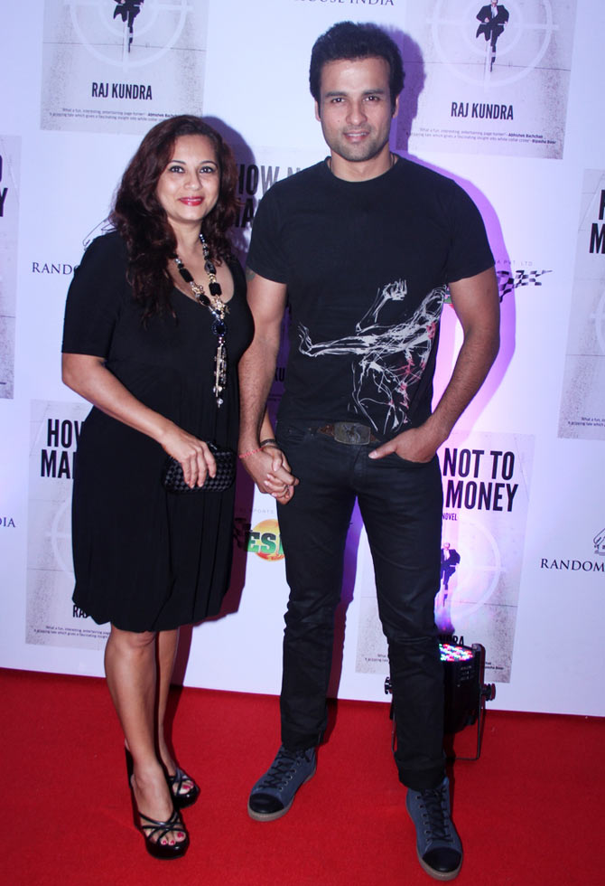 Rohit Roy and Mansi Joshi