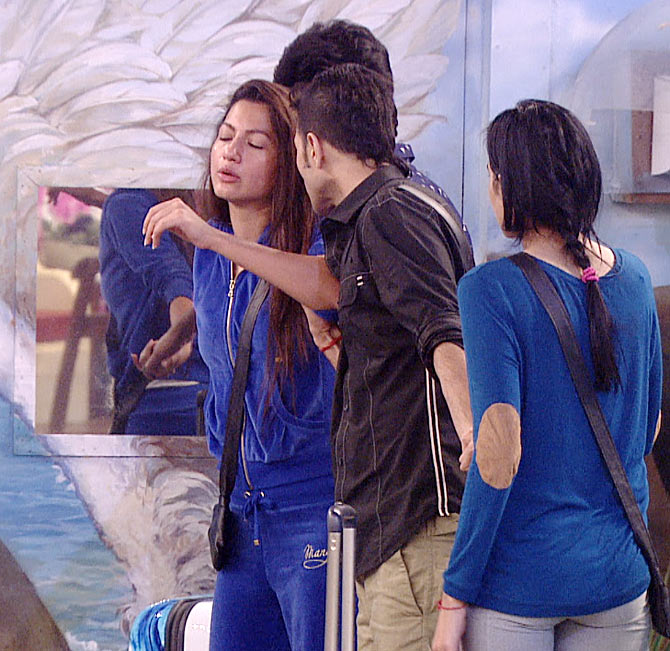 Gauhar Khan in Bigg Boss