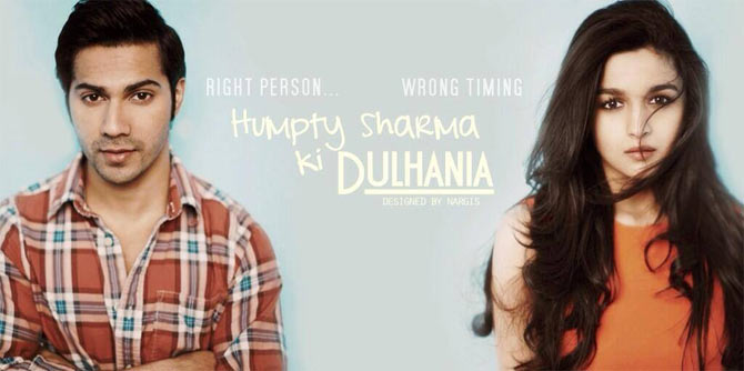 Movie poster of Humpty Sharma Ki Dulhaniya