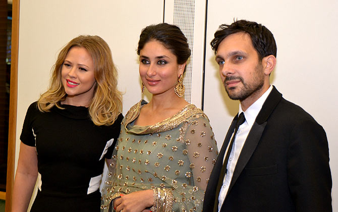 Kimberley Walsh, Kareena Kapoor Khan and Dynamo