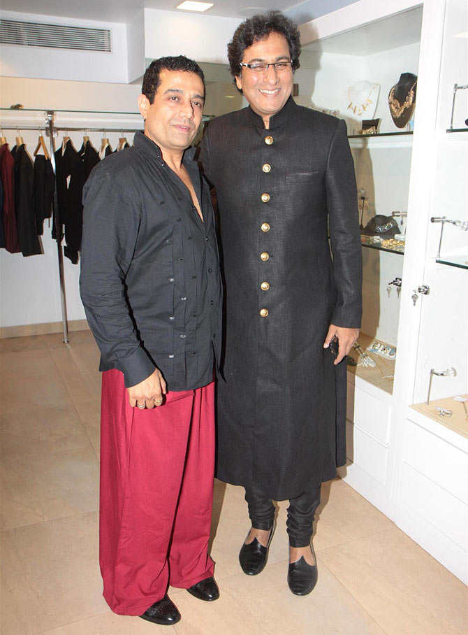 Shaahid Amir and Talat Aziz