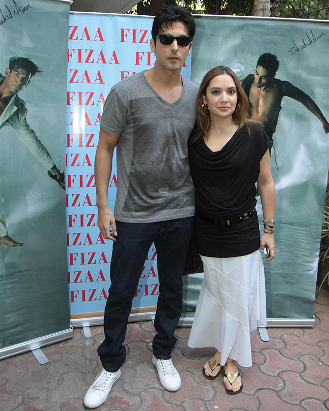 Zayed Khan and Mallika Parekh