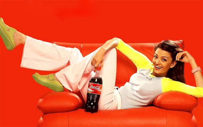 Aishwarya Rai Bachchan in Coca Cola
