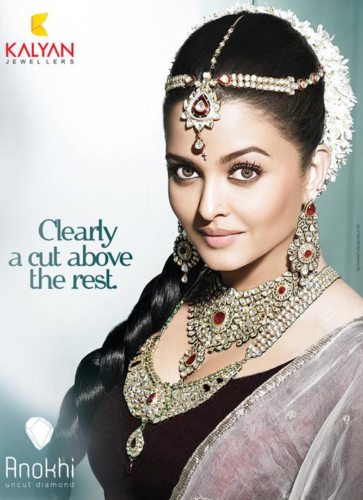 Aishwarya Rai Bachchan in Kalyan Jewellers
