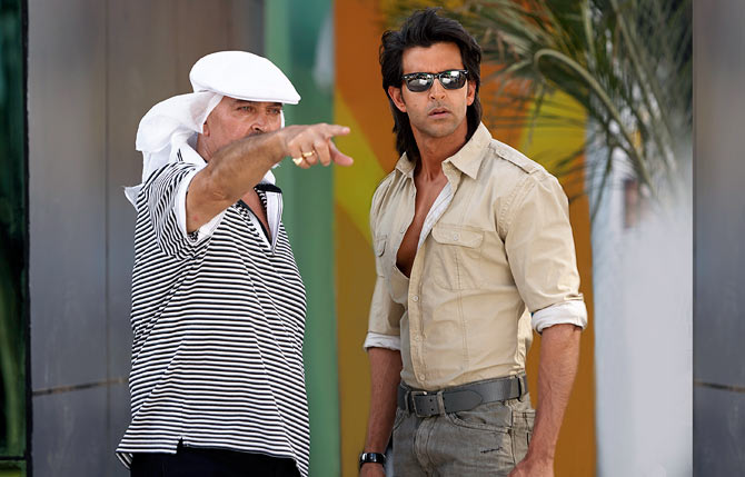 Rakesh and Hrithik Roshan