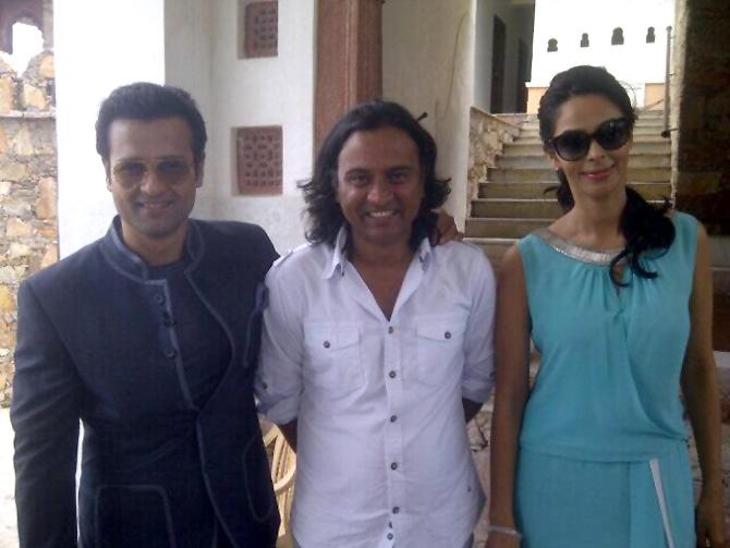Rohit Roy, Rishi Tyagi and Mallika Sherawat